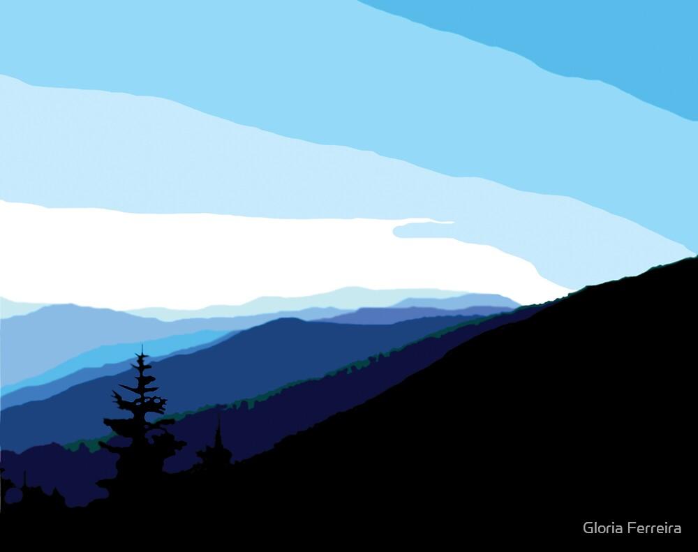 Smoky Mountains by Gloria Ferreira
