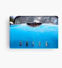 Blue Buick Canvas Print