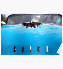 Blue Buick Poster