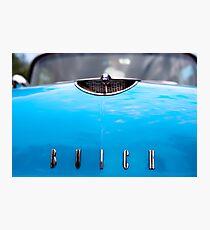 Blue Buick Photographic Print