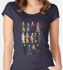 13 Doctors Women's Fitted Scoop T-Shirt