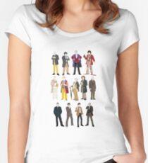 13 Doctors Women's Fitted Scoop T-Shirt