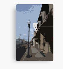 YOGA LANE Canvas Print