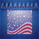 american flag by valeo5