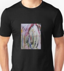 Candle Flame, Original Abstract painting Unisex T-Shirt