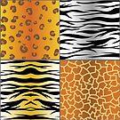 set of animal skins by valeo5