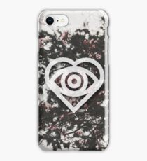 Floral Future Hearts Logo iPhone Case/Skin