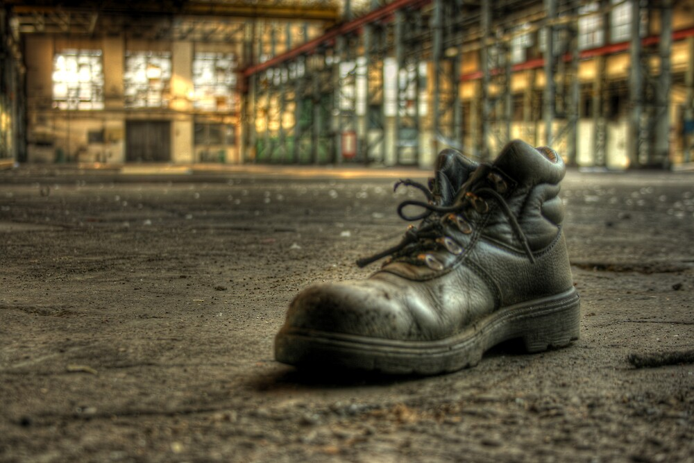 Lonely Boot by Richard Shepherd