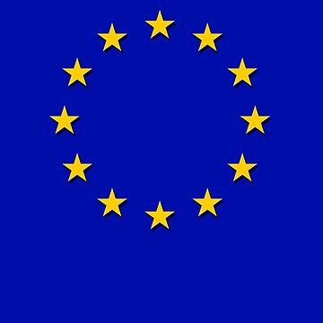 Europe - I Love The European Union ~ EU Flag T-Shirt Drapeau Design by deanworld