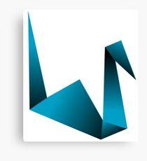 Crane Origami Canvas Print