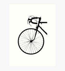 Lámina artística Crescent Bike Black