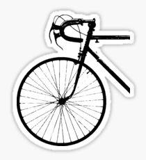 Crescent Bike Black Sticker