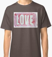 Watercolor Love Classic T-Shirt