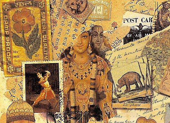 Indian Glories by Sarah Vernon