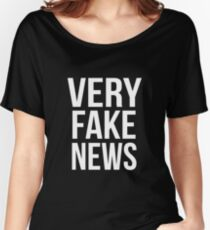 fake news Women's Relaxed Fit T-Shirt