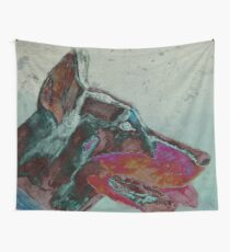 Psychedelic Doberman Wall Tapestry