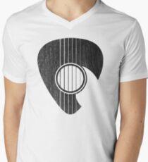 Camiseta para hombre de cuello en v Rasguear...