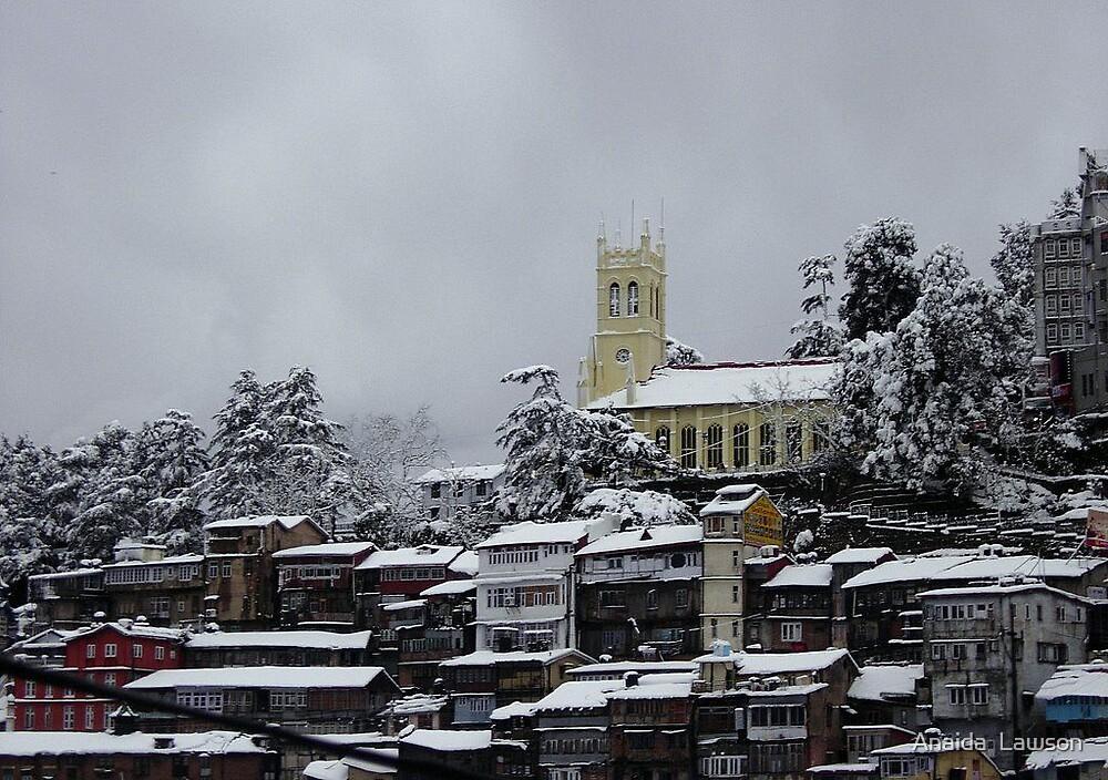 Snowfall4 by Anaida  Lawson