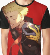 Persona 5 Ryuji Sakamoto Graphic T-Shirt