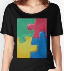 PUZZLE? Women's Relaxed Fit T-Shirt