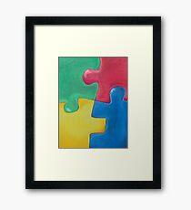 PUZZLE? Framed Print