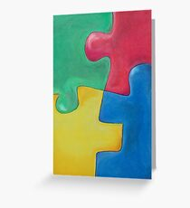 PUZZLE? Greeting Card