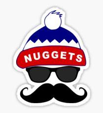 Bruzza Nuggets Sticker