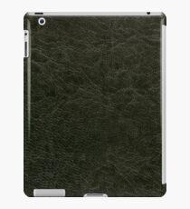 Green porous leather sheet texture iPad Case/Skin