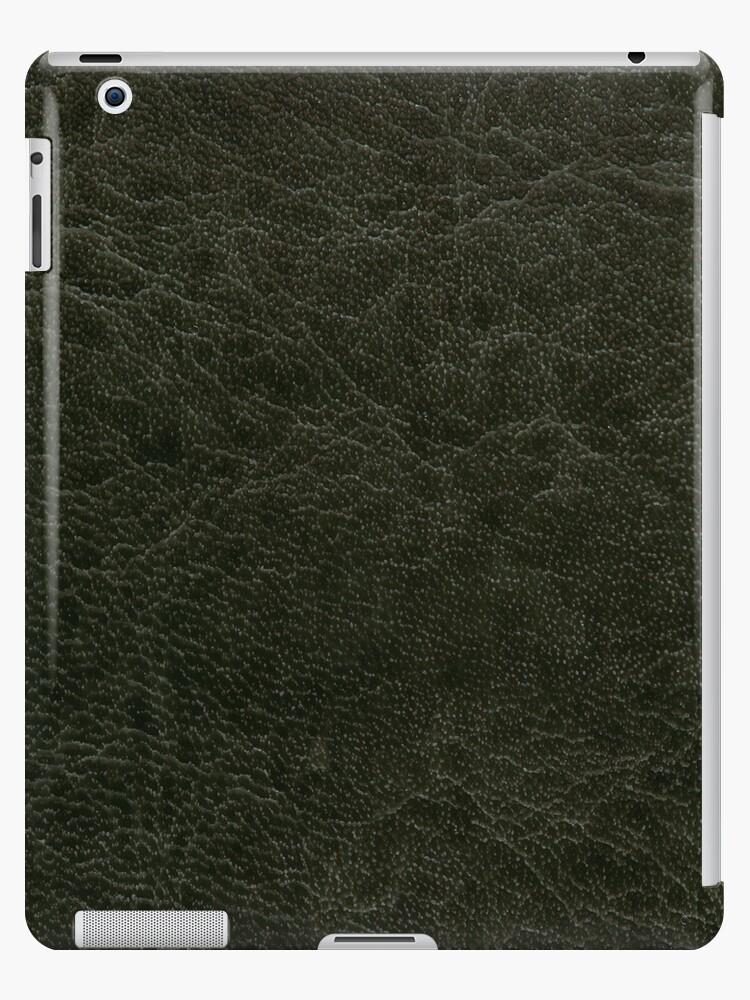 «Textura de hoja de cuero poroso verde» de Arletta Cwalina