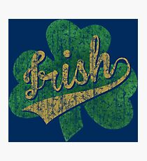 Shamrock Irish Vintage Photographic Print