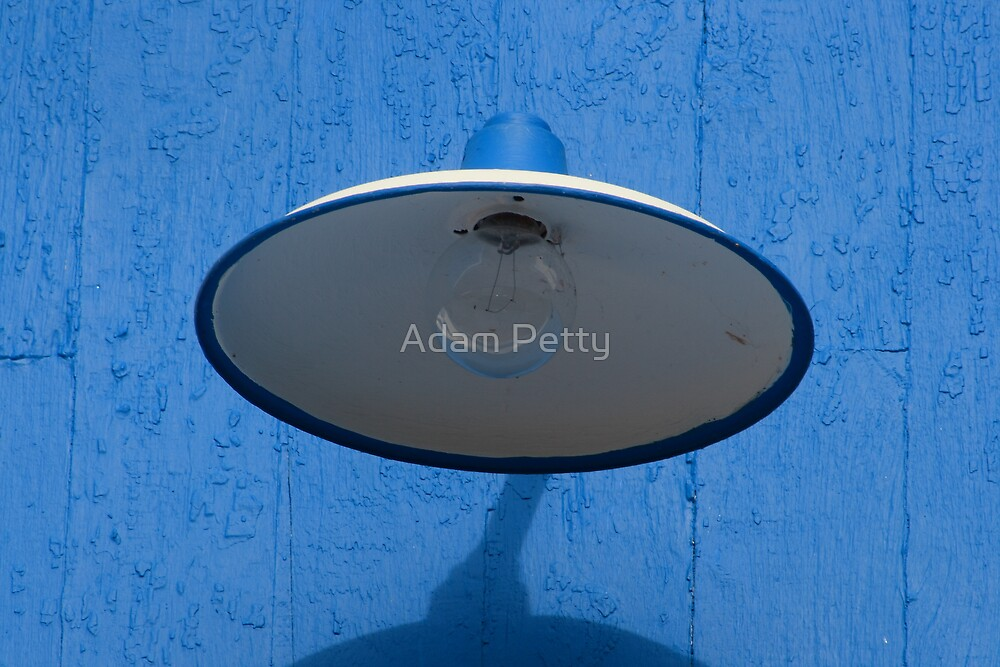 light on the blues by Adam Petty