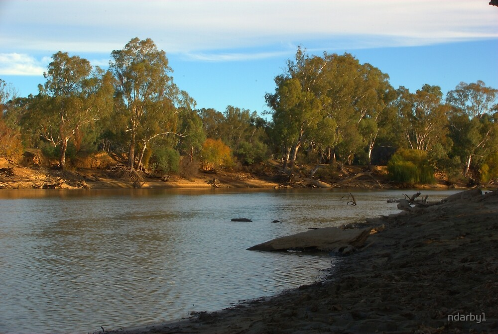 Murray River by ndarby1