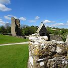 The Chapel and Lady Tower at Farleigh Hungerford Castle by trish725