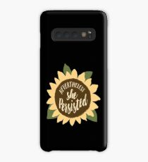 """""""Nevertheless She Persisted"""" Case/Skin for Samsung Galaxy"""