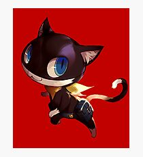 Persona 5 Morgana Photographic Print