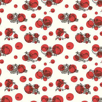 Decorative pomegranates by Zhivova