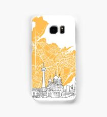Tallinn Estonia Skyline Map Samsung Galaxy Case/Skin