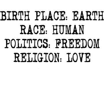 Birth Place: Earth  by Neberkenezer