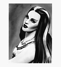 lily munster Photographic Print