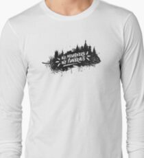 No Mourners No Funerals Long Sleeve T-Shirt