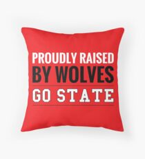 state bison throw pillow stance pillows