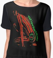Tribe called quest - The Low end Theory  Women's Chiffon Top
