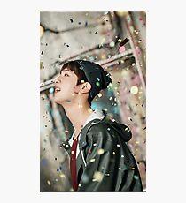 Jin bts sticker  Photographic Print