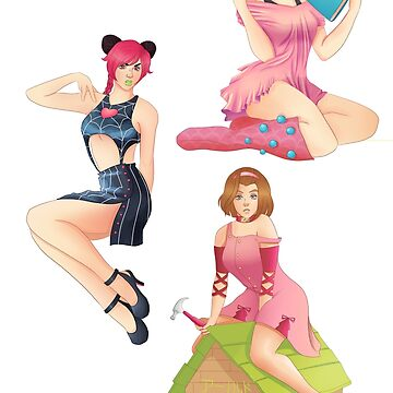 Jojo girls as pin-ups - 2 by WowBeva