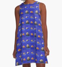 Shell Collection A-Line Dress