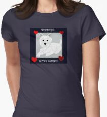 Westies In The House! Womens Fitted T-Shirt
