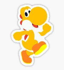 Orange Yoshi Sticker