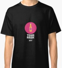 Team bride St. Petersburg 2017 Henparty Ri9ps Classic T-Shirt