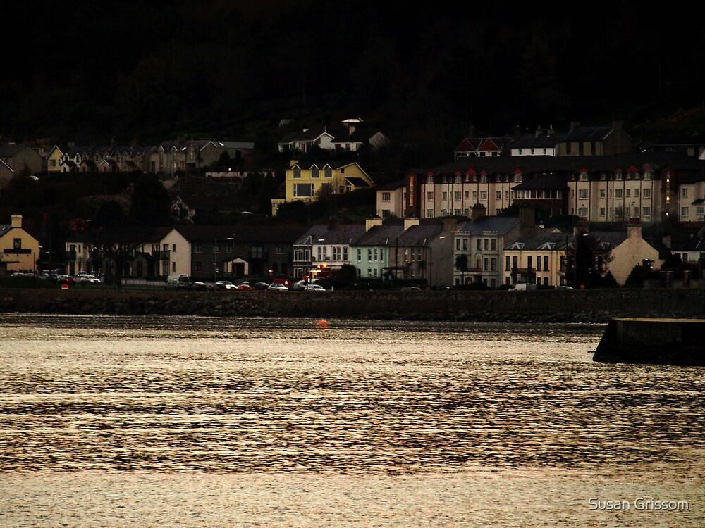 Evening Coastal scene by Susan Grissom