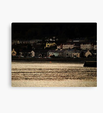 Evening Coastal scene Canvas Print